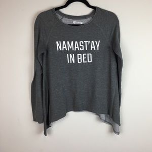 Namast'ay In Bed Grayson Threads Pajama Top